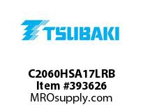 US Tsubaki C2060HSA17LRB C2060H RIV 7L/SA-1