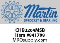 """Martin Sprocket CHB2204MSB 2"""" #220 FOOD GRADE PTFE"""