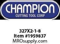Champion 327X2-1-8 CARBON ROUND DIE STOCK ADJ