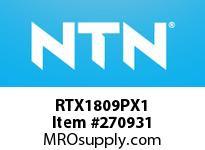 NTN RTX1809PX1 PRECISION CYLINDRICAL BRG