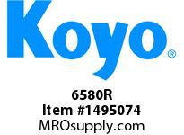 Koyo Bearing 6580R TAPERED ROLLER BEARING