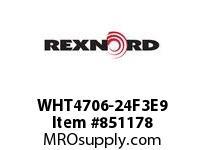 REXNORD WHT4706-24F3E9 WHT4706-24 F3 T9P N3 WHT4706 24 INCH WIDE MATTOP CHAIN W