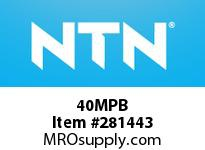 NTN 40MPB STEEL HOUSINGS