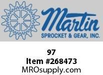 Martin Sprocket 97 BOXMETALSKT4-5/8X2-5/16X1