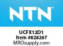 NTN UCFX12D1 Mounted Units (Cast Iron)