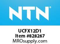 NTN UCFX12D1 Mounted Units (Cast Iron)
