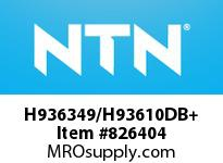 NTN H936349/H93610DB+ Large Size TRB 200<D<=400