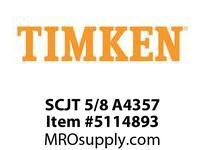 TIMKEN SCJT 5/8 A4357 Ball Flange Unit