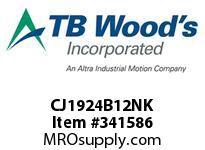 TBWOODS CJ1924B12NK CJ19/24X1/2 NK HUB