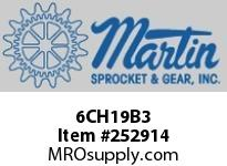 "Martin Sprocket 6CH19B3 6"" X 1 1/2"" 19B HANGER-OIL"