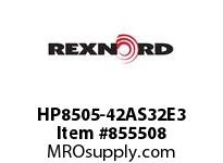 REXNORD HP8505-42AS32E3 HP8505-42 3AS-T32P HP8505 42 INCH WIDE MATTOP CHAIN WI