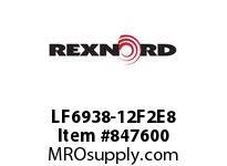 REXNORD LF6938-12F2E8 LF6938-12 F2 T8P LF6938 12 INCH WIDE MATTOP CHAIN WI