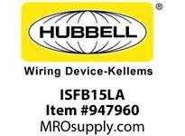 HBL-WDK ISFB15LA PLATE DECORATOR 15PIN FRAMEBLANKLA
