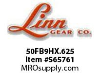 Linn-Gear 50FB9HX.625 HARDENED SPROCKET  H1