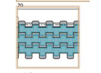 System Plast 254704 LFG2120FT-M0425VG MPB-METRIC