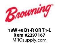 Morse MJ0037 18W 40 B1-R OR T1-L W