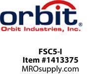 Orbit FSC5-I SLIDE FAN SPEED CONTROL SINGLE POLE FULLY VARIABLE 120V 5A