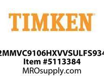 TIMKEN 2MMVC9106HXVVSULFS934 Ball High Speed Super Precision