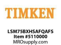 TIMKEN LSM75BXHSAFQAFS Split CRB Housed Unit Assembly