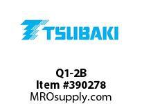 US Tsubaki Q1-2B Q1-2 1/8 SPLIT TAPER