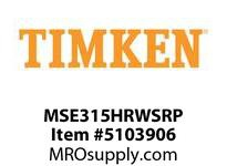 TIMKEN MSE315HRWSRP Split CRB Housed Unit Component