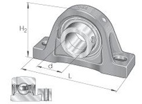 INA PAK1-1/4 Pillow block unit