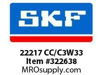 SKF-Bearing 22217 CC/C3W33