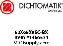 Dichtomatik 52X65X9SC-BX DISCONTINUED