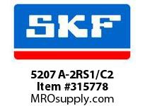 SKF-Bearing 5207 A-2RS1/C2