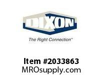 DIXON 574-1012 Female GH LOK-ON - 5/8""