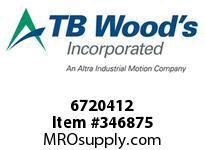 TBWOODS 6720412 FALK ASSEMBLY
