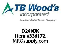 TBWOODS D260BK BEARING KIT