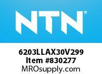 NTN 6203LLAX30V299 SMALL SIZE BALL BRG