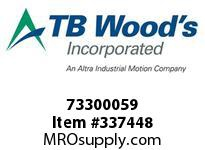TBWOODS 73300059 73300059 10S T-SF CPLG