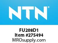 NTN FU208D1 CAST HOUSINGS