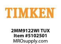 TIMKEN 2MM9122WI TUX Ball P4S Super Precision