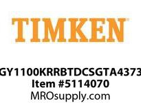 TIMKEN GY1100KRRBTDCSGTA4373 WIR Set Screw, Plated
