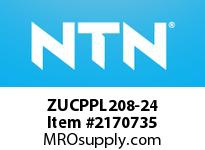 NTN ZUCPPL208-24 Mounted Units (Plastic)