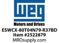 WEG ESWCX-80T04N79-R37BD XP FVNR 30HP/460 N79 460/120V Panels