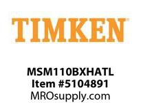 TIMKEN MSM110BXHATL Split CRB Housed Unit Assembly