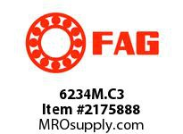 FAG 6234M.C3 RADIAL DEEP GROOVE BALL BEARINGS