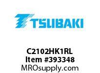 US Tsubaki C2102HK1RL C2102H K-1 ROLLER LINK