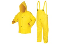 MCR 3003X5 Wizard .28mm PVC/Nylon/PVC Flame Ret Suit 3 PC YELLOW