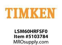 TIMKEN LSM60HRFSF0 Split CRB Housed Unit Component