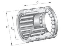 INA NX17Z Combination bearing