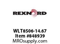 REXNORD WLT8506-14.67 WLT8506-14.66 WLT8506 14.6 INCH WIDE MATTOP CHAIN