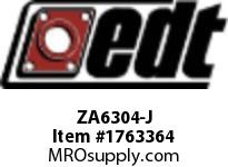 EDT ZA6304-J SS RADIAL BALL BRG W/FG SOLID LUBE