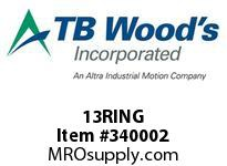 TBWOODS 13RING WIRE RING 13 SF