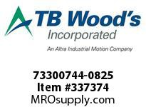 TBWOODS 73300744-0825 73300744-0825 10S T-SF CPLG