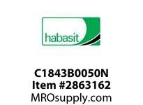 Habasit C1843B0050N 1843 Base Chain Nickel